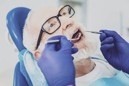 Mobile dentists for senior oral health